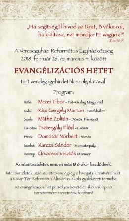 Evangélizációs hét